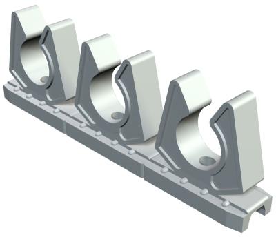 Рядная зажимная скоба, ширина шлица 11 — 12 мм — арт.: 2259079