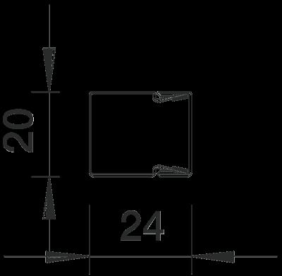 Схема Кабельный короб LKM 20020 — арт.: 6246966