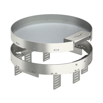Регулируемая кассетная рамка RKSRNUZD3 с кабельным выводом, из нержавеющей стали — арт.: 7409298
