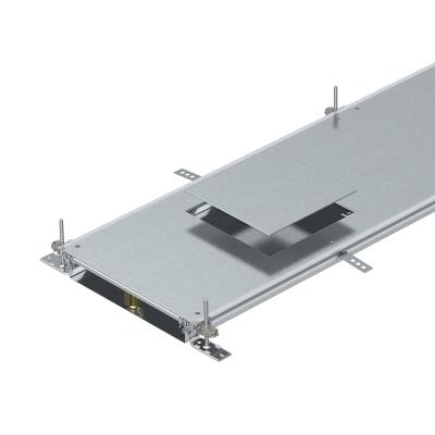 Секция кабельного канала с крышкой для лючка GES9, высота 60 — 110 мм — арт.: 7424720