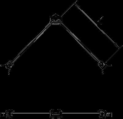 Схема Комплект для V-образного изолированного крепления к трубам — арт.: 5408982