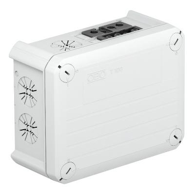 Распределительная коробка T-100 WS 1S4 2S3С с гнездовым и штекерным разъемом Wieland — арт.: 2007874