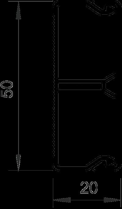 Схема Кабельный короб WDK-N 20050 — арт.: 6168744