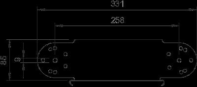 Схема Элемент вертикального регулируемого угла — арт.: 7005466