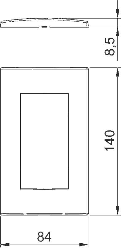 Схема Рамка AR45 двойная — арт.: 6119342