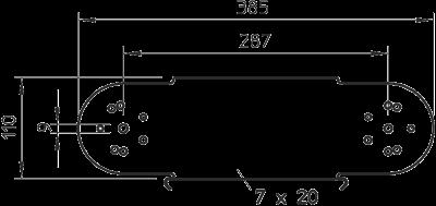 Схема Элемент вертикального регулируемого угла — арт.: 7005628