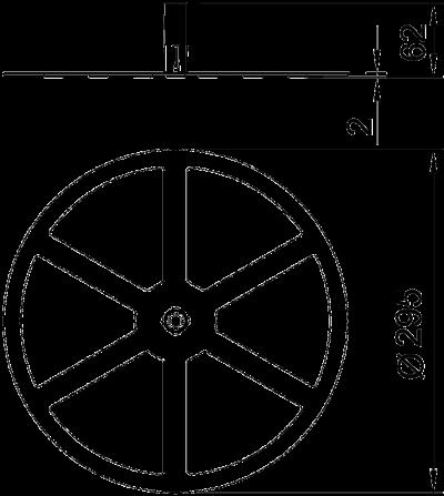 Схема Рамка для бетонного основания FangFix 10 кг — арт.: 5403124
