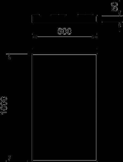 Схема Панель из минерального волокна с комбинированным защитным покрытием — арт.: 7202295