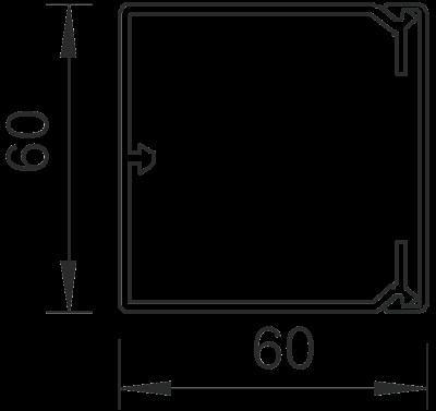 Схема Кабельный короб WDK 60060 — арт.: 6191193