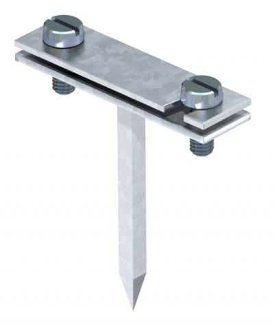 Держатель для плоских проводников с квадратным штифтом — арт.: 5030021