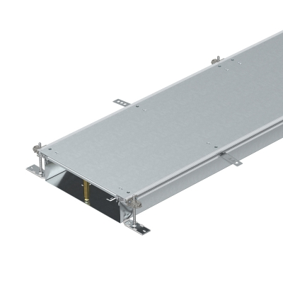 Секция кабельного канала глухая, с фиксаторами, высота 100 — 150 мм — арт.: 7424500