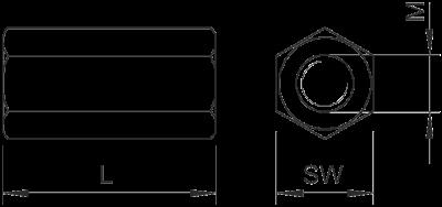 Схема Соединительная муфта — арт.: 6410081