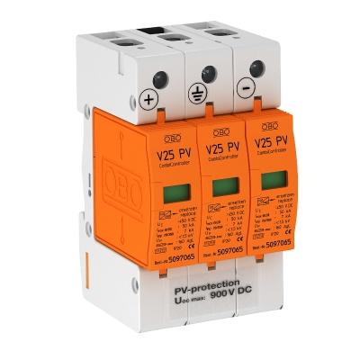Комбинированный разрядник V25 для фотогальванических установок, 900 В постоянного тока — арт.: 5097447