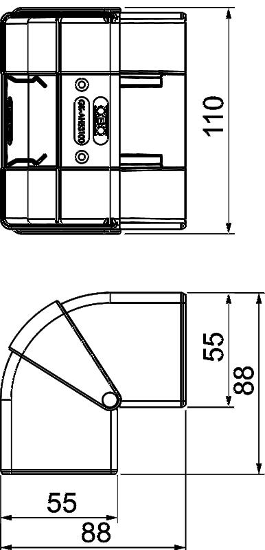 Схема Крышка внешнего угла — арт.: 6113054