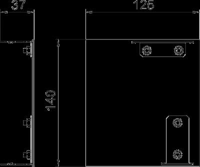 Схема Торцевая заглушка Style левая — арт.: 6115955