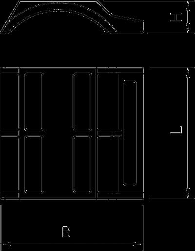 Схема Пластиковая прижимная пластина, универсальная — арт.: 1197126