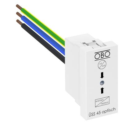 Модуль высокочувствительной защиты Modul 45 для монтажа в плинтусных кабельных коробах — арт.: 6117473