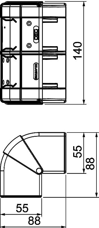 Схема Крышка внешнего угла — арт.: 6113230