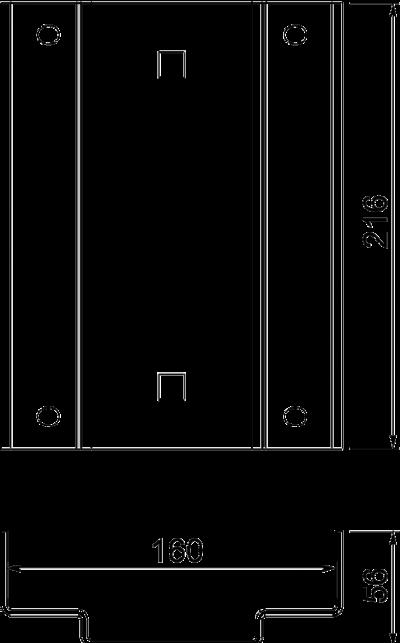 Схема Адаптерная пластина для кабеленесущей системы — арт.: 6290456