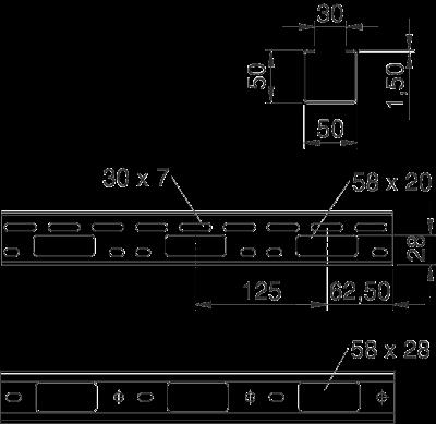 Схема Мини-канал AZ 50 — арт.: 6075096