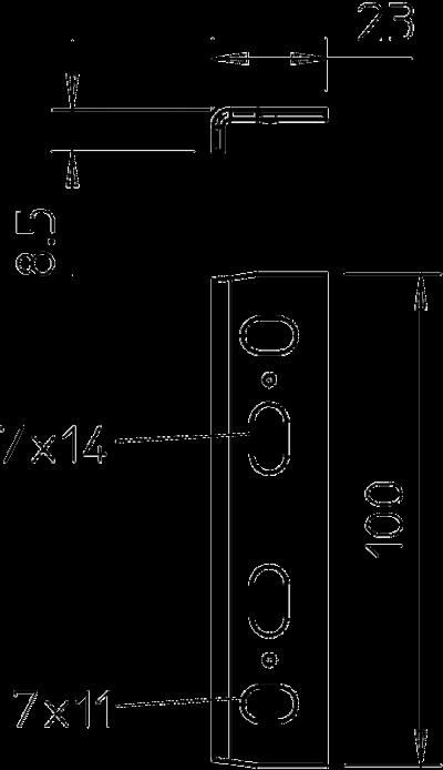 Схема Болтовой соединитель — арт.: 6066242