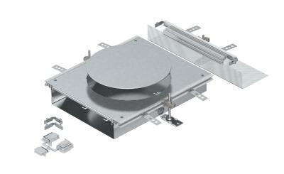 Монтажная секция с крышкой для лючка GESR9, высота 40 — 70 мм — арт.: 7424886