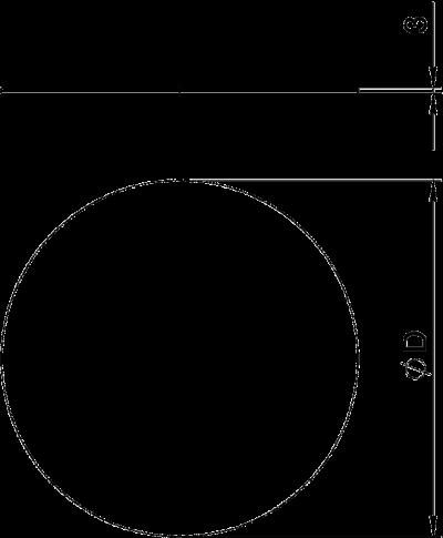 Схема Заглушка для круглого монтажного отверстия — арт.: 7407152