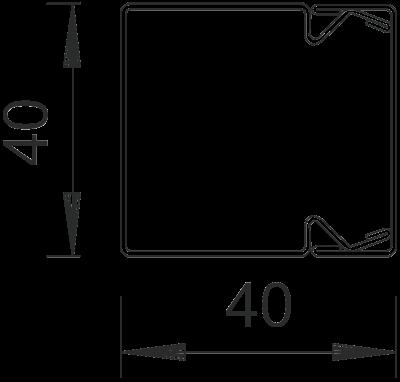 Схема Кабельный короб LKM 40040 — арт.: 6246990