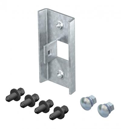 Крепление монтажного профиля на стальном каркасе — арт.: 6007498