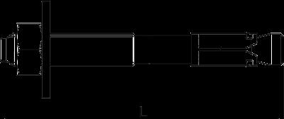 Схема Анкерный болт BZ-U — арт.: 3498322