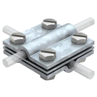 Крестовой соединитель для круглых проводников Rd 8-10, с промежуточной пластиной — арт.: 5312310