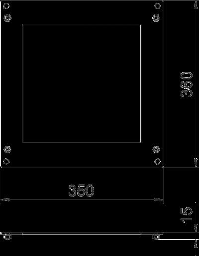 Схема Пластина для Т-образной секции — арт.: 7216464