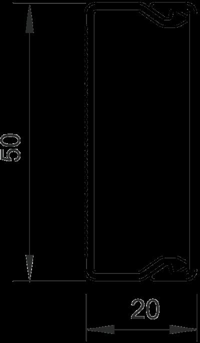 Схема Кабельный короб WDK 20050 — арт.: 6168736