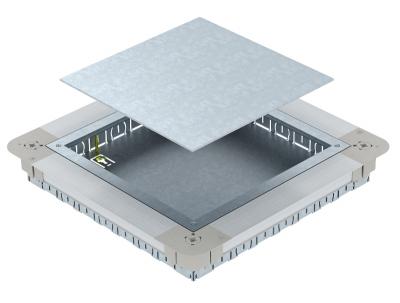 Монтажное основание UGD250-3 с крышкой для лючка GES9/55 — арт.: 7410060