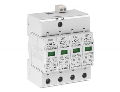 Разрядник для защиты от перенапряжений 4-полюсный, с дистанционной сигнализацией — арт.: 5094795