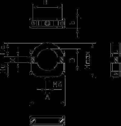 Схема Молниезащитная скоба ISO, накручивающаяся — арт.: 2158124
