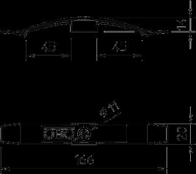 Схема Кабельный зажим для 10 проводов, подключаемый — арт.: 2205054