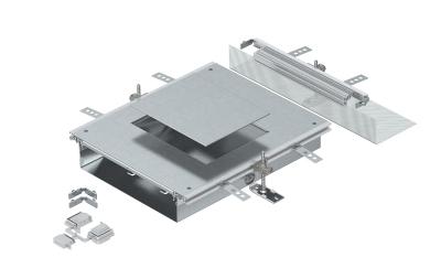 Монтажная секция с крышкой для лючка GES6, высота 60 — 110 мм — арт.: 7424902