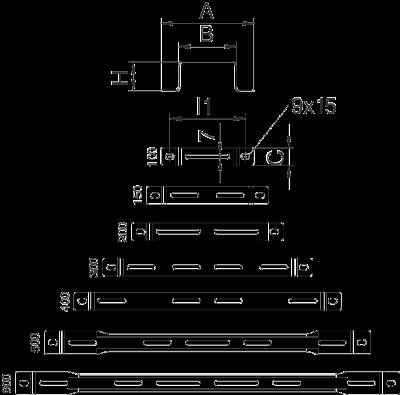 Схема Дистанционная скоба — арт.: 6015506