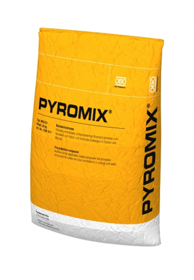 Огнестойкий сухой раствор PYROMIX®, в пакете — арт.: 7206104
