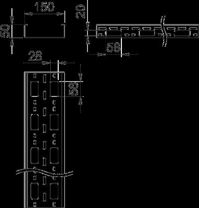 Схема Мини-канал AZ 150 — арт.: 6075320