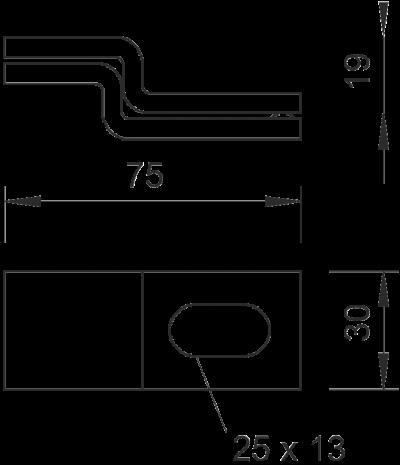 Схема Настенная скоба — арт.: 6019617