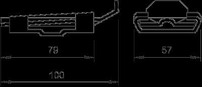 Схема Клиновый соединитель — арт.: 5014212