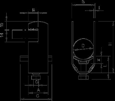 Схема Зажимная скоба 1-секционная, с пластиковой прижимной пластиной — арт.: 1169122