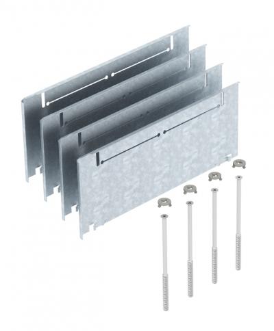 Комплект надставок для увеличения высоты монтажных оснований UZD/UGD250-3 с боковой стенкой высотой 115 — 170 мм — арт.: 7410146