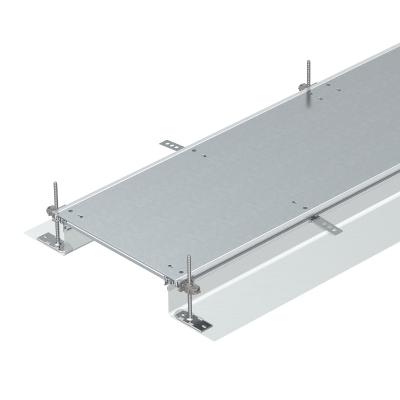 Секция кабельного канала глухая, с фиксаторами, высота 40 — 140 мм — арт.: 7424040