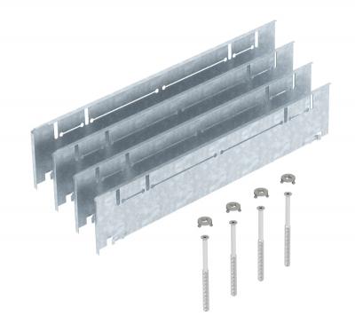 Комплект надставок для увеличения высоты монтажных оснований UZD/UGD350-3 с боковой стенкой высотой 70 — 125 мм — арт.: 7410150