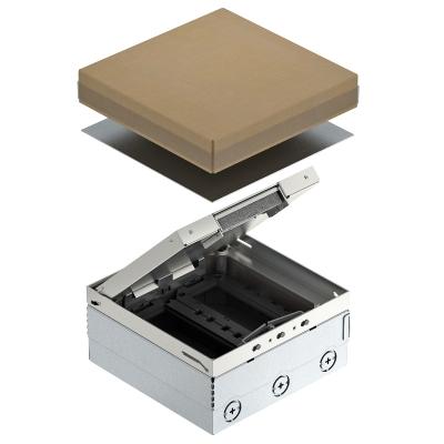 Лючок UDHome4 с модульной рамкой MT3, для индивидуальной комплектации, из нержавеющей стали — арт.: 7427248