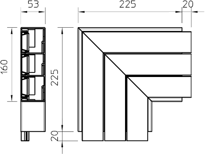 Схема Плоский угол — арт.: 6116493