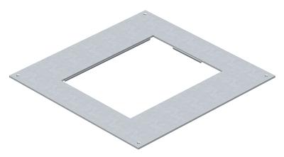 Крышка монтажного основания 350-3 с отверстием для лючка GES6 — арт.: 7400509